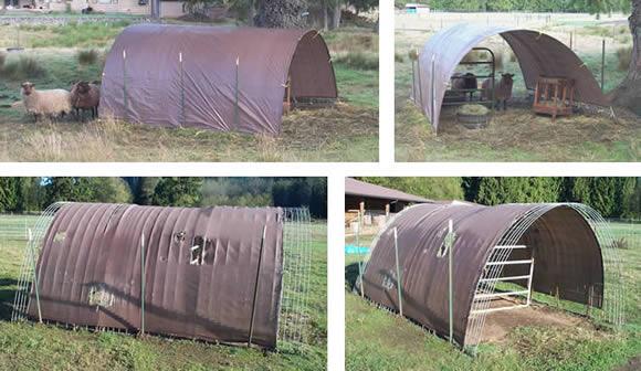Hog Panel Shelters